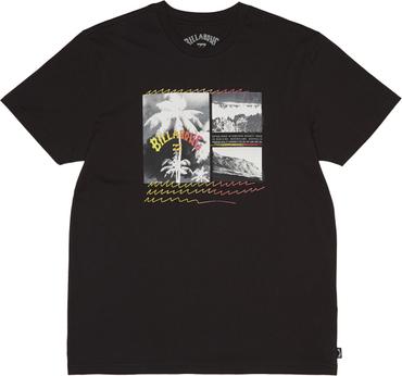 Billabong Herren T-Shirt Crash Tee Ss (Black) – Bild 1