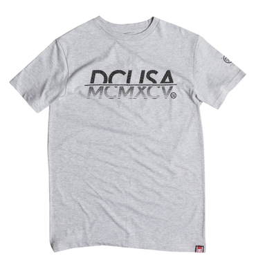 DC Shoes Herren T-Shirt RD MCMXCV (Heather Grey)