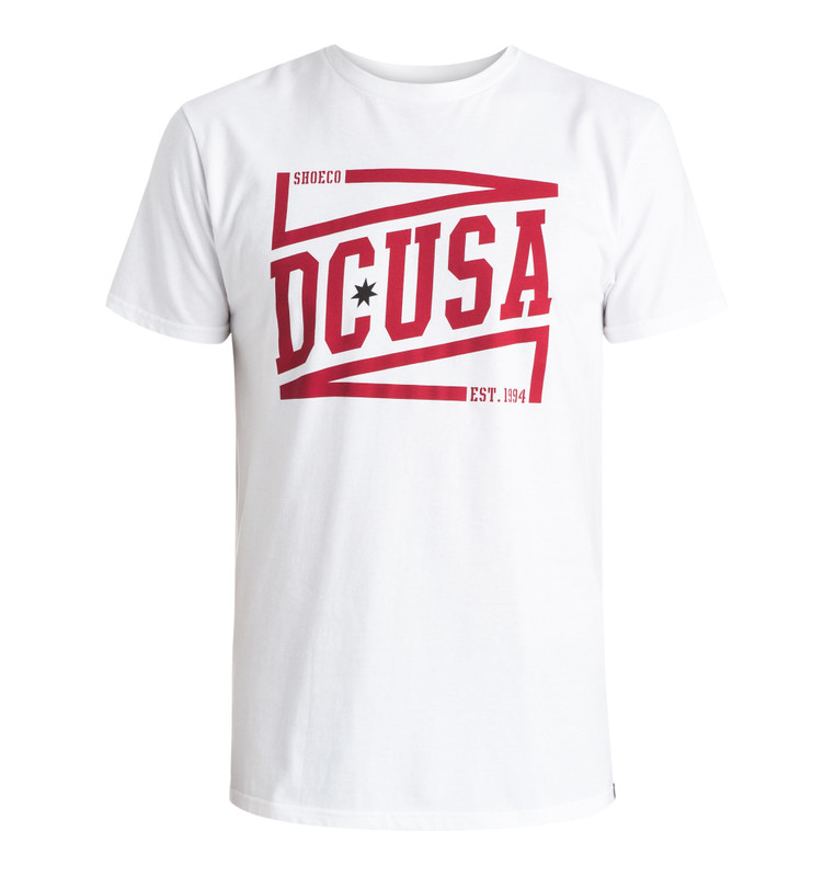 DC Shoes Herren T-Shirt BLUELINER (White) 001