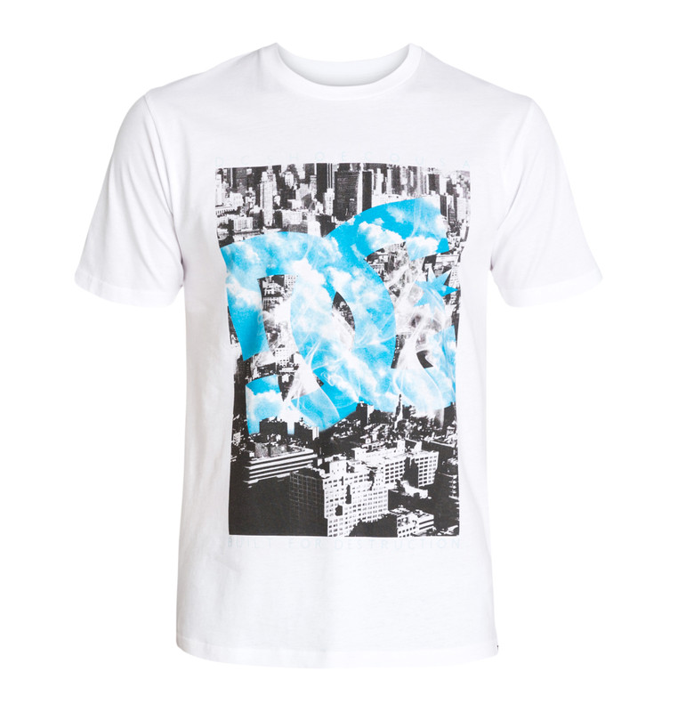 DC Shoes Herren T-Shirt BOROUGH (White) 001