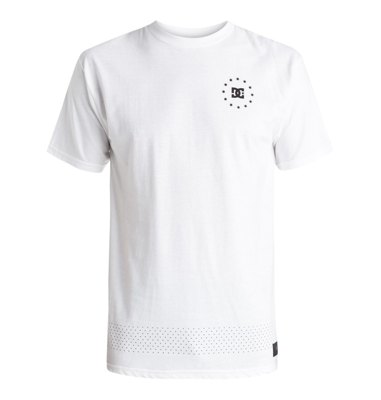 DC Shoes Herren T-Shirt KALIS 07 (White) 001