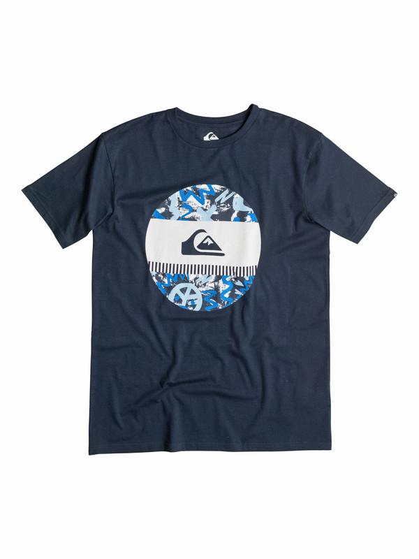 Quiksilver Herren T-Shirt CLASSIC TEE DISCO BISCUIT (BYJ0) 001