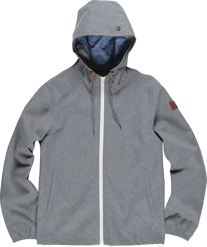 Element Herren Jacke ALDER (Grey Heather) 001