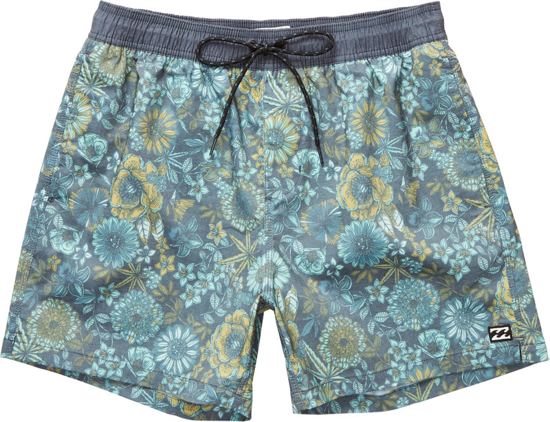 Billabong Herren Badehose SEASONS LAYBACK 15 (Dark Slate) 001