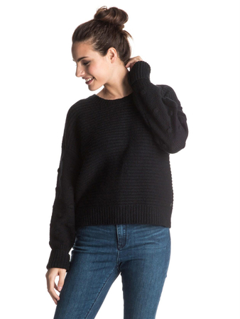 Roxy Damen Sweater REST (True Black)