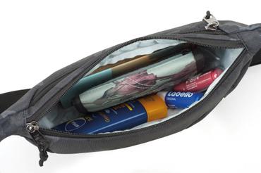 Nitro Unisex Gürteltasche Hip Bag (Tough Black) – Bild 4