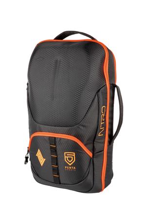 Nitro Unisex Rucksack Gamer 32L (Penta Black/Orange) – Bild 1