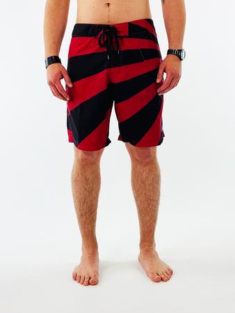 Fallen Herren Boardshorts Rising Sun (RED/BLACK) – Bild 1