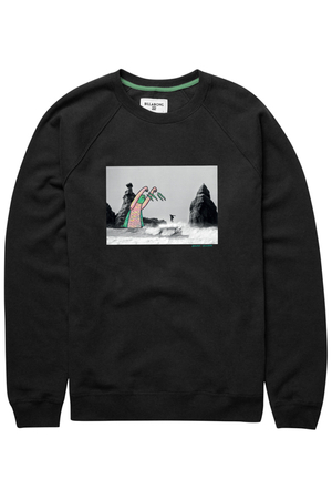 Billabong Herren Pullover MIX PACK ARTIST CR (Black)
