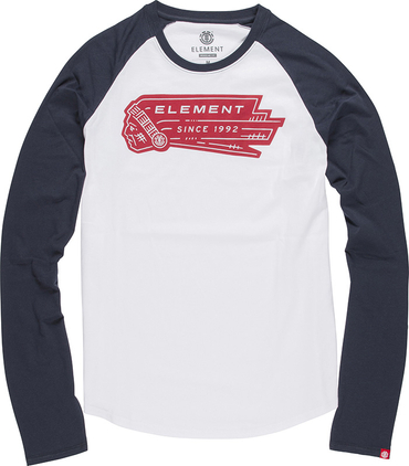 Element Herren Longsleeve BASEBALL LS (Eclipse Navy)