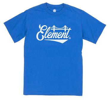 Element Herren T-Shirt BRIDGE SS (Olympian Blue)