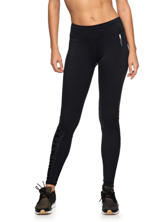 Roxy Damen Funktionelle Laufleggings SWING PANT (Anthracite) – Bild 3