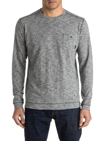 Quiksilver Herren Sweatshirt LINDOW CREW (Dark Grey Heather)
