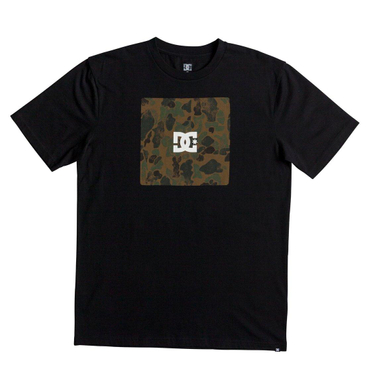 DC Shoes Herren T-Shirt SQUARE BOXING S (Black)