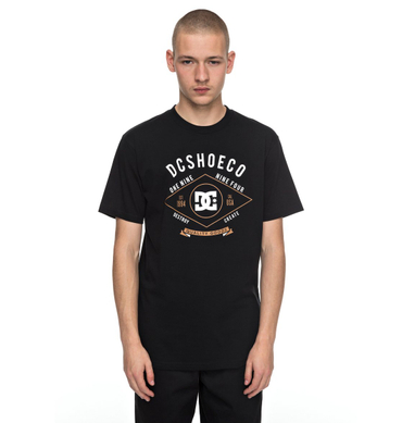DC Shoes Herren T-Shirt MELTON SS (Black)