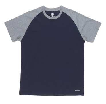 Element Herren T-Shirt basic raglan ss (Eclipse Navy)