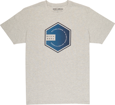Billabong Herren T-Shirt Six Tee  (Grey Heather)