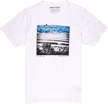 Billabong Herren T-Shirt Blue Dream Tee  (White)