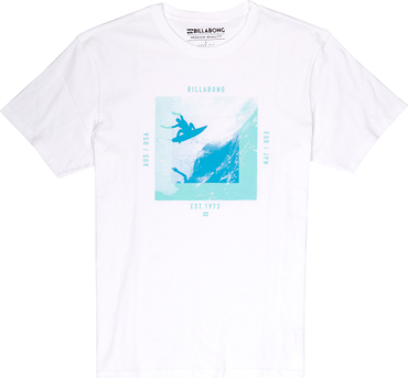 Billabong Herren T-Shirt Thrashed Air Tee  (White)