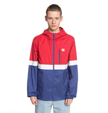 DC Herren Windbreaker Dagup Triple Bl (Tango Red) – Bild 1
