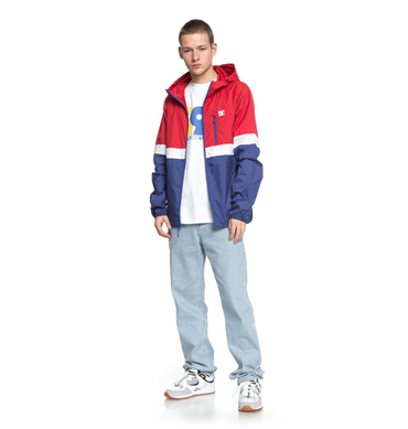 DC Herren Windbreaker Dagup Triple Bl (Tango Red) – Bild 3