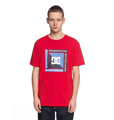 DC Herren T-Shirt Arkana (Tango Red) – Bild 1