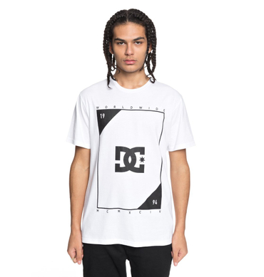 DC Herren T-Shirt Middle Theory (Snow White) – Bild 1