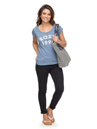 Roxy Damen T-Shirt Bobby B (Blue Shadow) – Bild 2