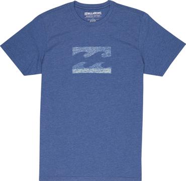 Billabong Herren T-Shirt Wave Tee Ss (Dark Blue)