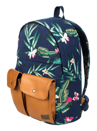 Roxy Rucksack Stop And Share (Dress Blue Isle) – Bild 2
