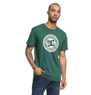 DC Herren T-Shirt Circle Star (Hunter Green) – Bild 1