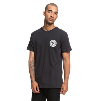 DC Herren T-Shirt Circle Star Fb (Black) – Bild 1