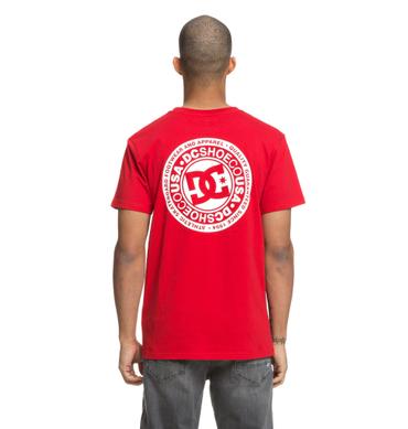 DC Herren T-Shirt Circle Star Fb (Tango Red) – Bild 2