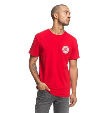 DC Herren T-Shirt Circle Star Fb (Tango Red) – Bild 1
