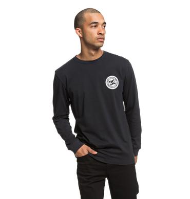 DC Herren T-Shirt Circle Star Ls (Black) – Bild 1