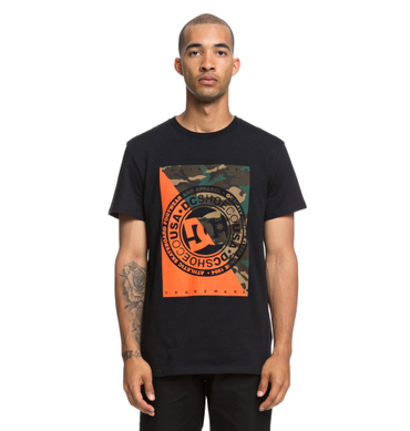 DC Herren T-Shirt Warfare (Black) – Bild 1