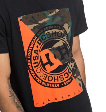 DC Herren T-Shirt Warfare (Black) – Bild 2