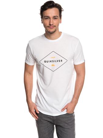 Quiksilver Herren T-Shirt Fluid Flow UPF 30 (White) – Bild 1