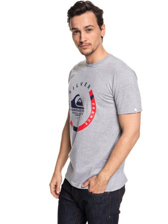 Quiksilver Herren T-Shirt QUIK PRO FRANCE (Light Grey Heather) – Bild 1