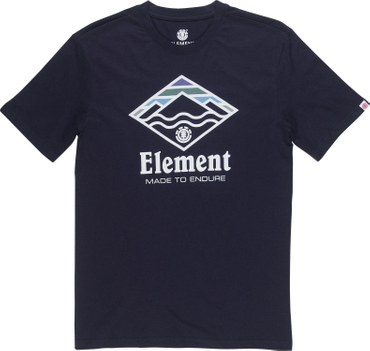 Element Herren T-Shirt LAYER SS (Eclipse Navy)