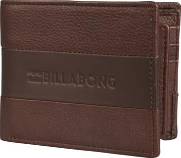 Billabong Herren Geldbeutel TRIBONG LEATHER (Chocolate)