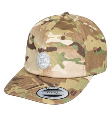 Dc Herren Snapback Cap Cam Hipper (Camo) – Bild 1