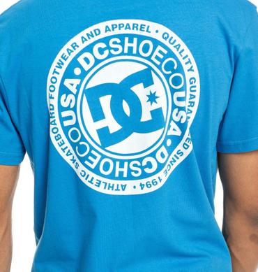 Dc Herren T-Shirt Circlestrfbss2 M (Brilliant Blue) – Bild 3