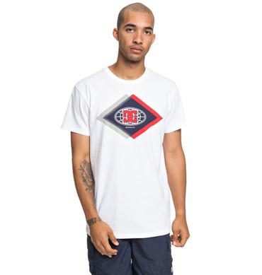DC Shoes Herren T-Shirt Co Defendant Ss M (Snow White) – Bild 1