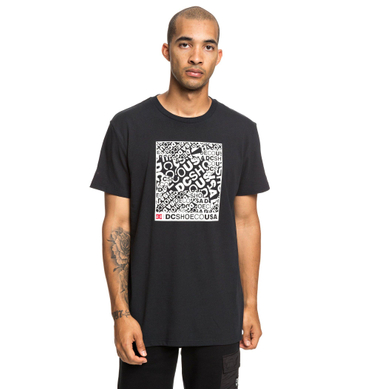 Dc Herren T-Shirt Cover Up Ss M (Black) – Bild 1