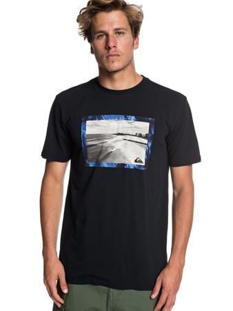 Quiksilver Herren T-Shirt Thegoldyss M (Black) – Bild 1