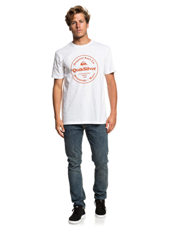Quiksilver Herren T-Shirt Scrtingredienss M (White) – Bild 2