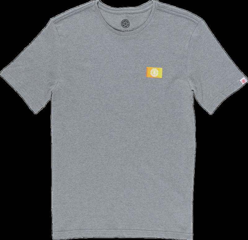 Element Herren T-Shirt JAR SS (Grey Heather) 001