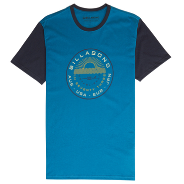 Billabong Herren T-Shirt ROCK POINT TEE SS (Royal)