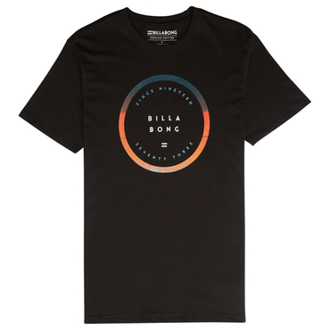 Billabong Herren T-Shirt ROTATED TEE SS (Black)